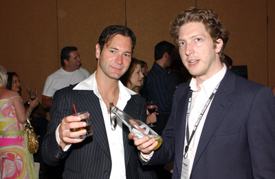 Chris Jaymes and Henry Alex Rubin at In Memory of My Father (2005)