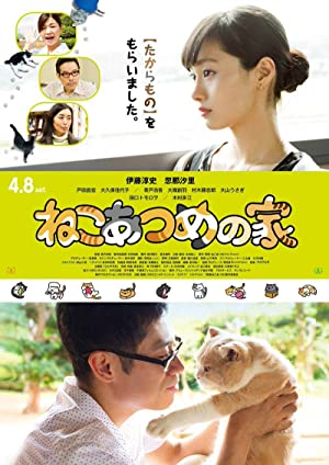 Neko Atsume House Poster