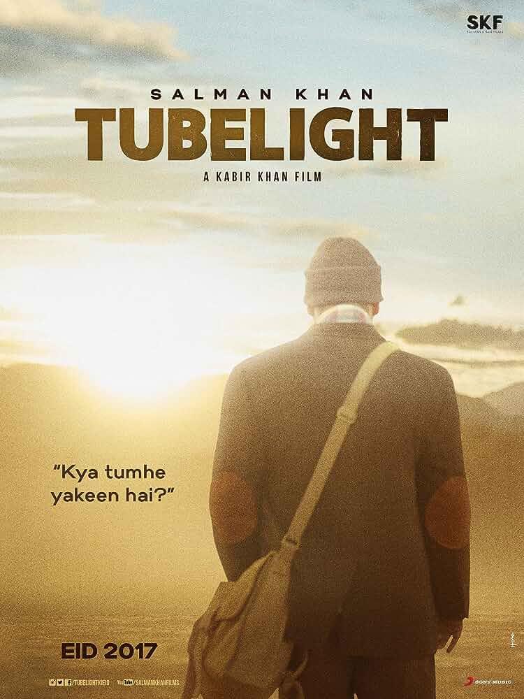 Tubelight 2017 Hindi 720p DVDRip 700MB