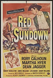 Red Sundown Poster