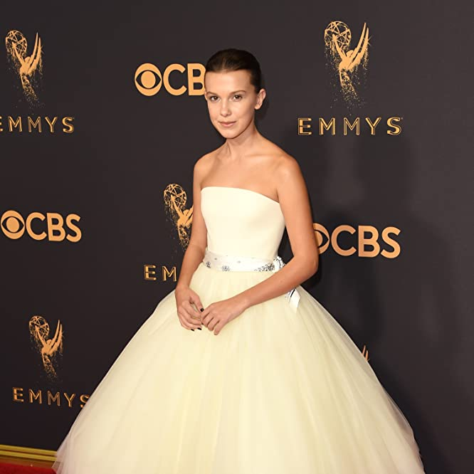 Millie Bobby Brown at an event for The 69th Primetime Emmy Awards (2017)