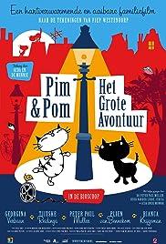 Pim & Pom: The Big Adventure Poster