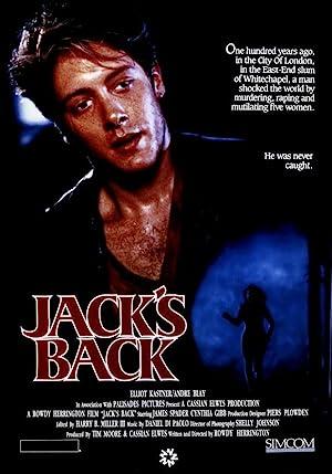 Jack's Back poster