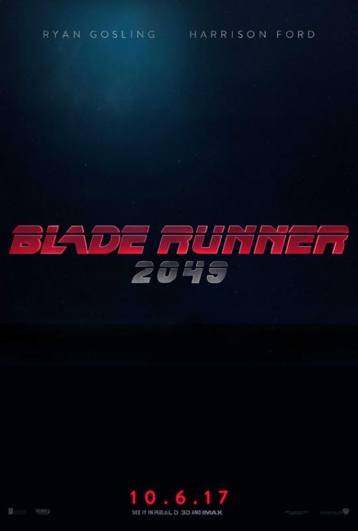 Blade Runner 2049 cartel de la película