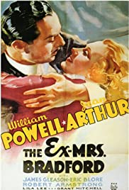The Ex-Mrs. Bradford (1936) Poster - Movie Forum, Cast, Reviews
