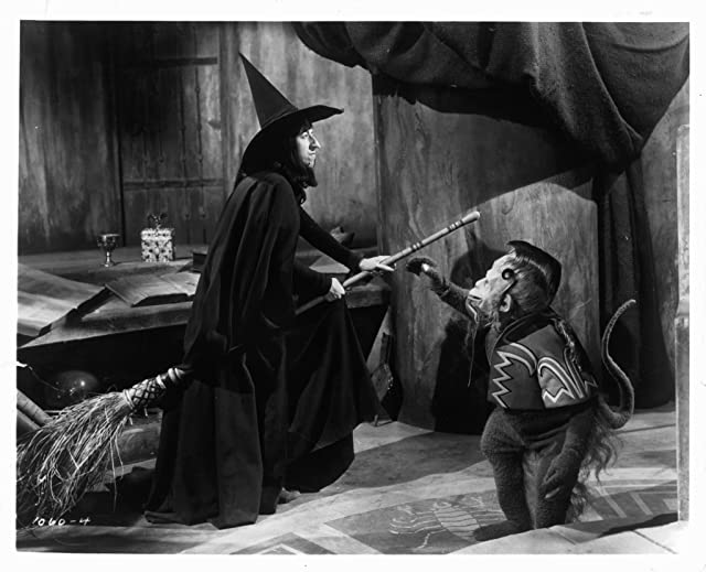 Margaret Hamilton and Pat Walshe in The Wizard of Oz (1939)