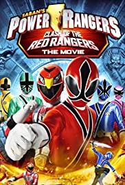 Clash of the Red Rangers Part 1 Poster