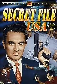 Secret File, U.S.A. Poster