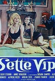 Le sette vipere (Il marito latino) Poster