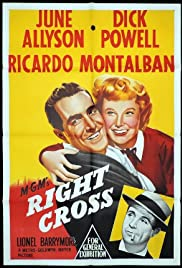 Right Cross (1950) Poster - Movie Forum, Cast, Reviews