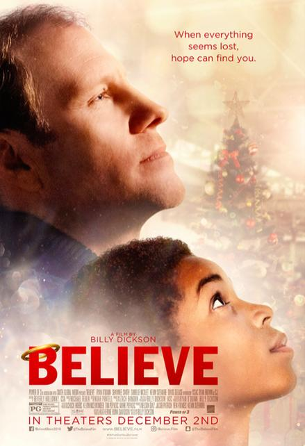 Believe movie poster thumbnail link to detail view