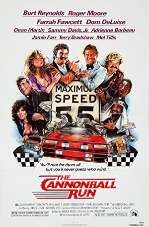 Los locos del Cannonball (1981)