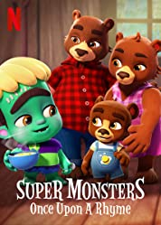 Super Monsters: Once Upon a Rhyme (2021) poster