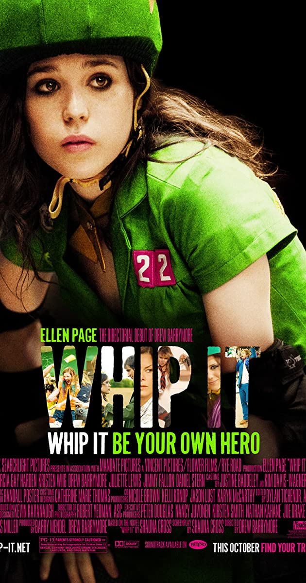 Riedėk / Whip It (2009)