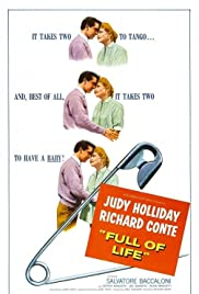Full of Life (1956) Poster - Movie Forum, Cast, Reviews