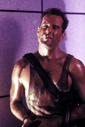 Bruce Willis in Die Hard (1988)