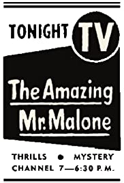 The Amazing Mr. Malone Poster