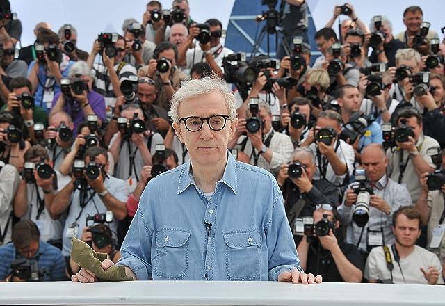 Woody Allen at Midnight in Paris (2011)