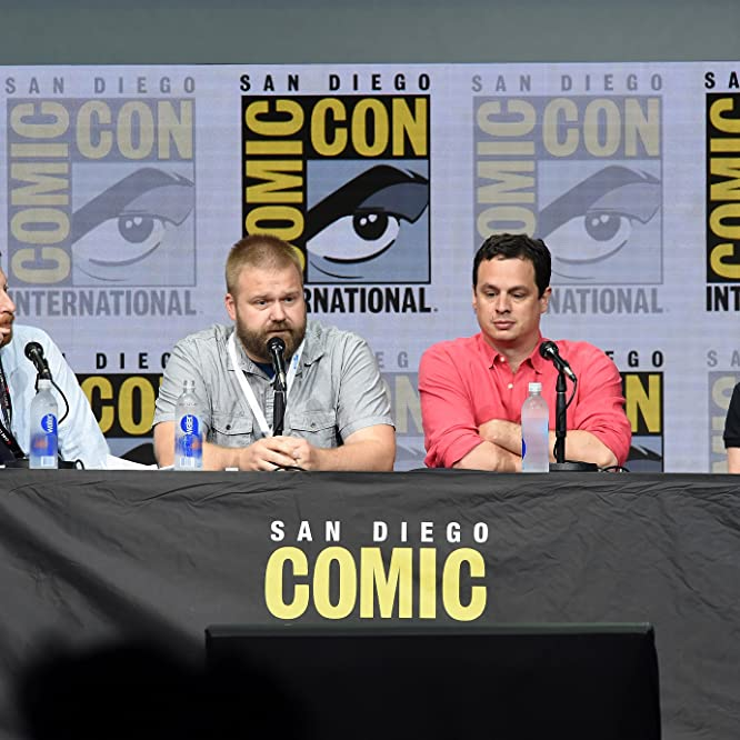Gale Anne Hurd, David Alpert, and Robert Kirkman at an event for The Walking Dead (2010)