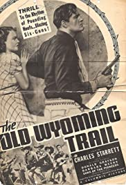 The Old Wyoming Trail Poster