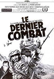 Le Dernier Combat (The Last Battle) Poster