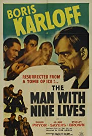 The Man with Nine Lives (1940) Poster - Movie Forum, Cast, Reviews