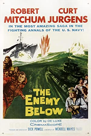 The Enemy Below poster