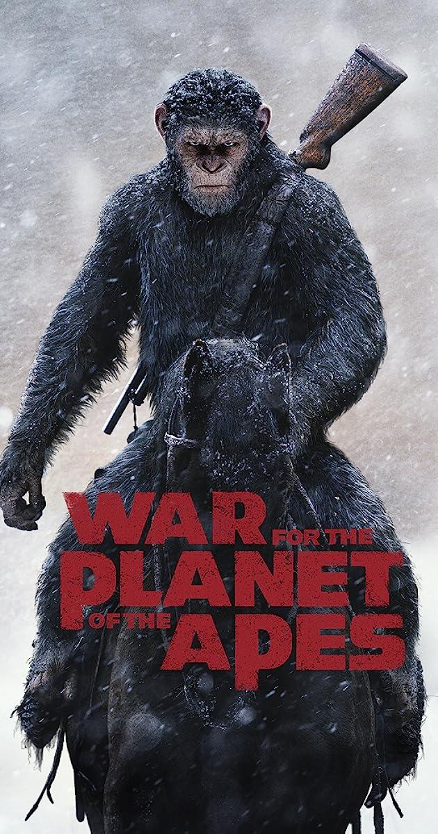 Karas už beždžionių planetą (2017) Online