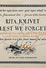 Lest We Forget Poster
