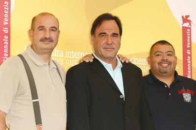 Oliver Stone, William Jimeno, and John McLoughlin at World Trade Center (2006)