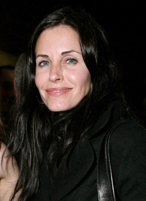 Courteney Cox at an event for The Lookout (2007)