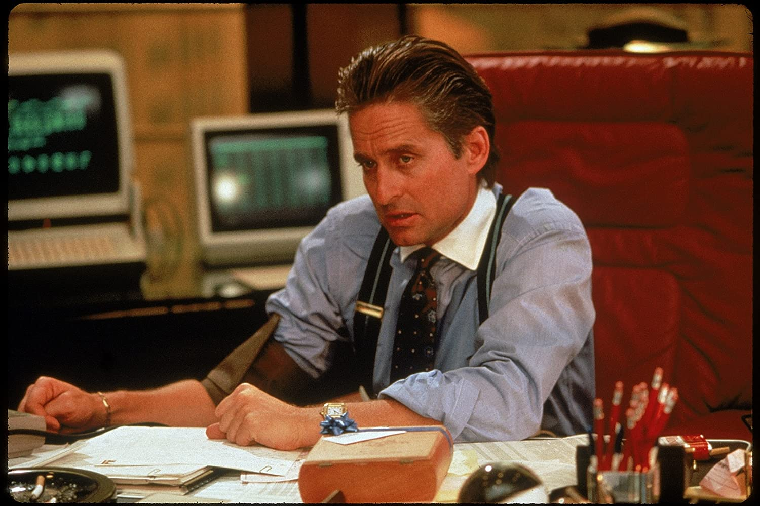 Michael Douglas in Wall Street (1987)