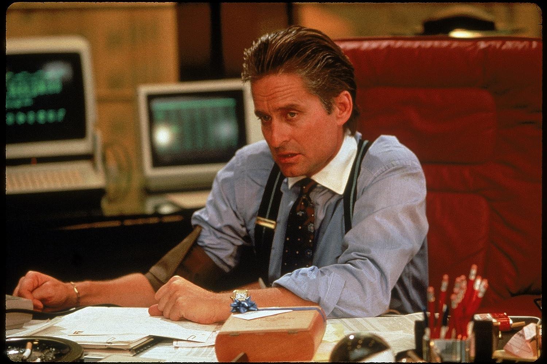 Michael Douglas in Wall Street (1987)