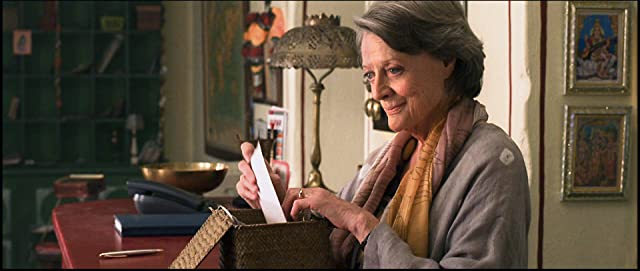 Maggie Smith in The Best Exotic Marigold Hotel (2011)