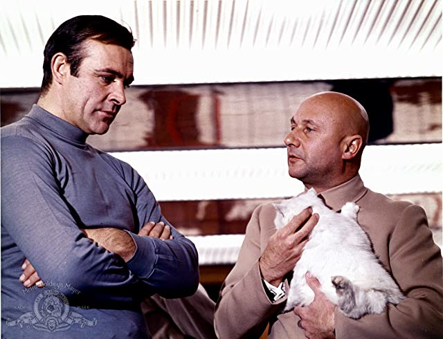 Sean Connery and Donald Pleasence in You Only Live Twice (1967)