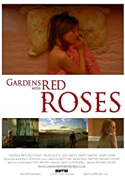 Gardens with Red Roses Poster