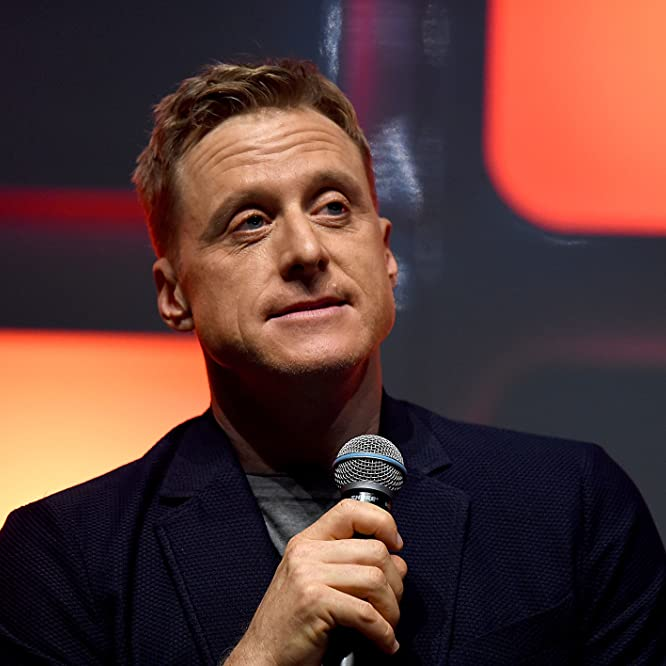 Alan Tudyk at an event for Rogue One (2016)