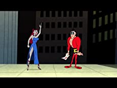 Lady Granite and Plastic man