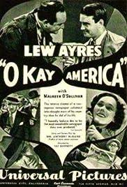 Okay America! Poster