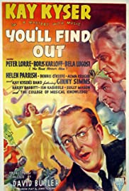 You'll Find Out (1940) Poster - Movie Forum, Cast, Reviews