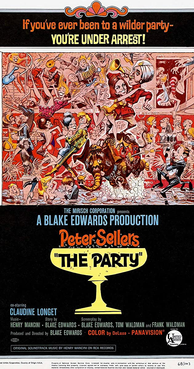 Vakarėlis / The Party (1968) Online