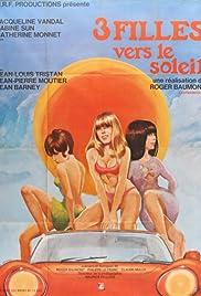 Trois filles vers le soleil Poster