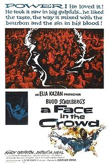 Poster Ein Gesicht in der Menge