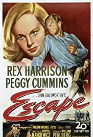Escape (1948) Poster - Movie Forum, Cast, Reviews