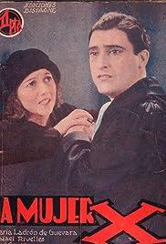 La mujer X Poster