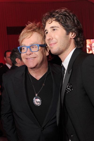Elton John and Josh Groban at The 82nd Annual Academy Awards (2010)