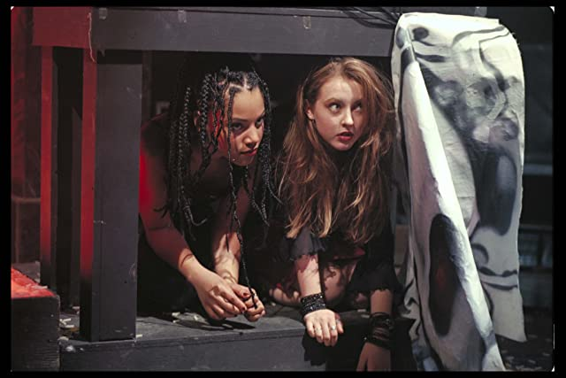 Katharine Isabelle and Bianca Lawson in Bones (2001)
