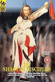 Shaolin Incredible Ten Poster