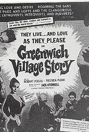 Greenwich Village Story Poster