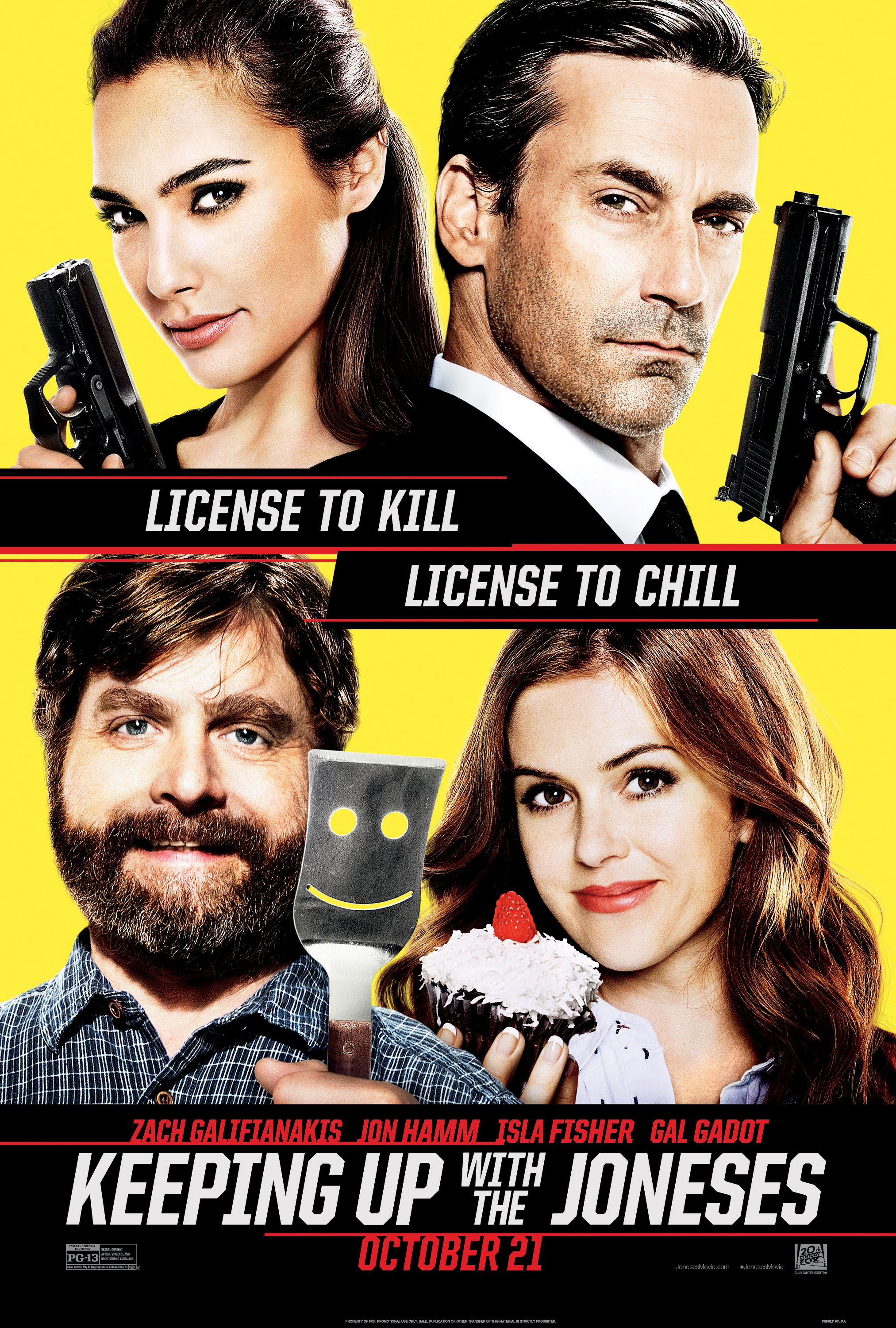 image Keeping Up with the Joneses Watch Full Movie Free Online